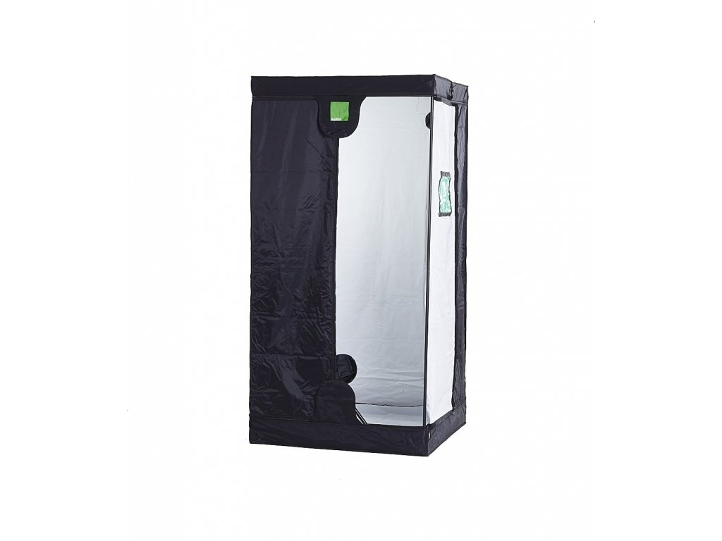 BudBox PRO Intermediate 75x75x160 stříbrný - pěstební stan