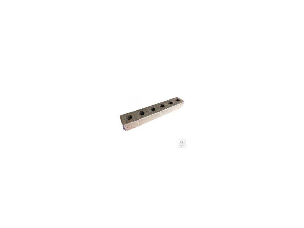 Bomat BIO Pěstební kostky 100x100x70 mm1 otvor 30*35 mm, 6 ks slepených papírem