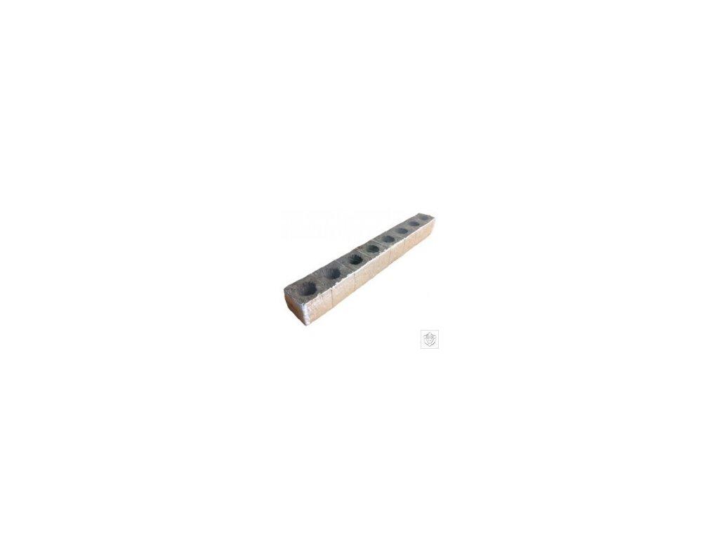 Bomat BIO Pěstební kostky 75x75x70 mm otvor 46*35 mm 8 ks slepených papírem