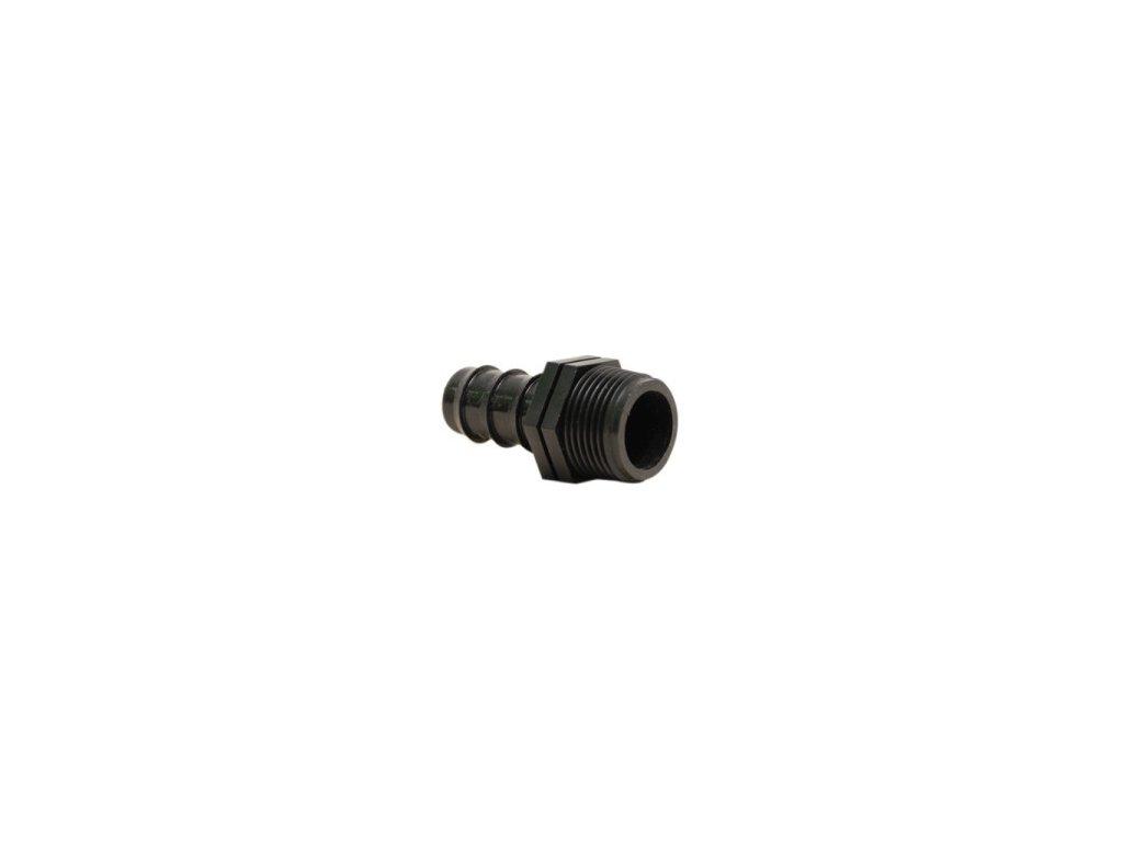 """Irritec PE přípoj hadice 16 mm x  1/2 """", vnější závit"""