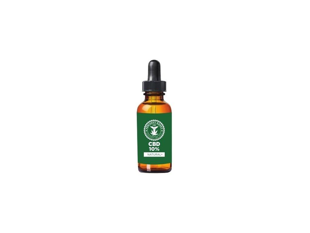 Fénixovy kapky CBD olej 10% bez aroma, 10ml