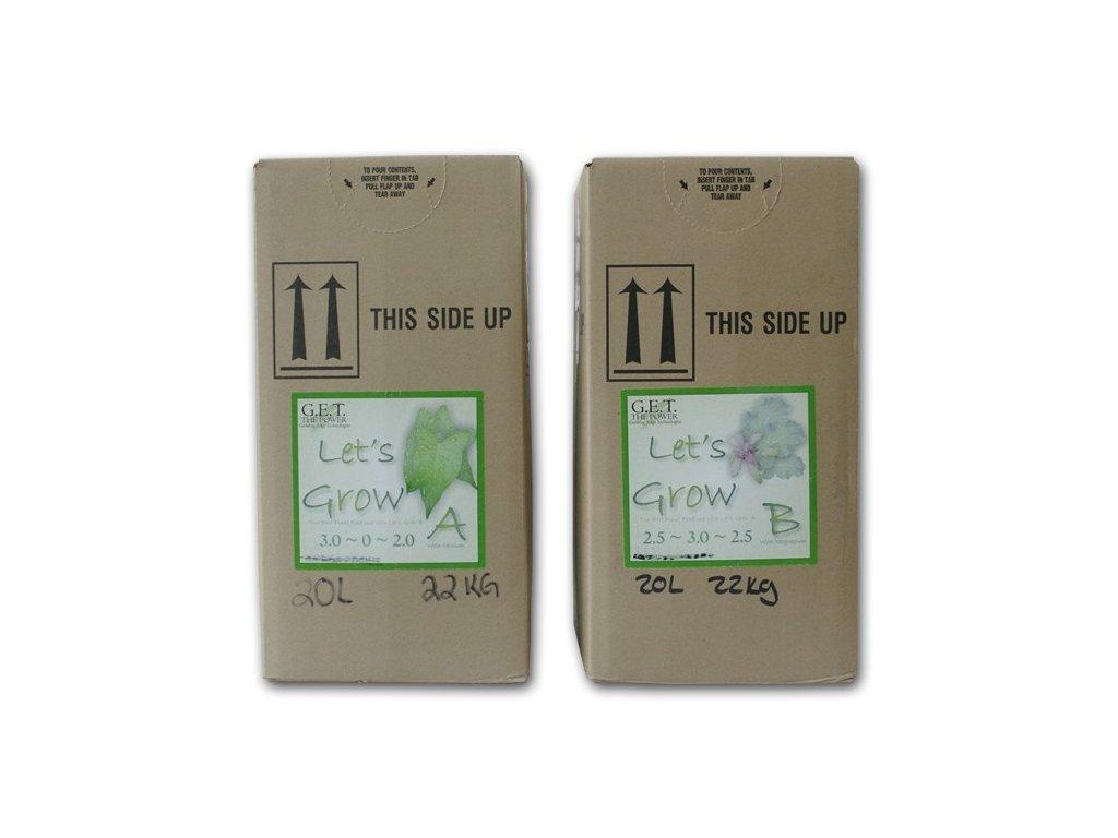 G.E.T. Let's Grow (A+B) 20 l - dvousložkové hnojivo