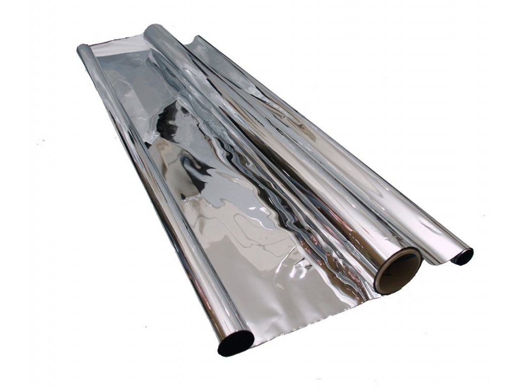 Mylar folie stříbrná odrazová 1.4m x 30m x 35mu