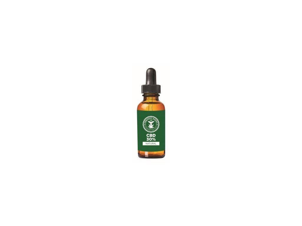 Fénixovy kapky CBD olej 30% bez aroma, 10ml