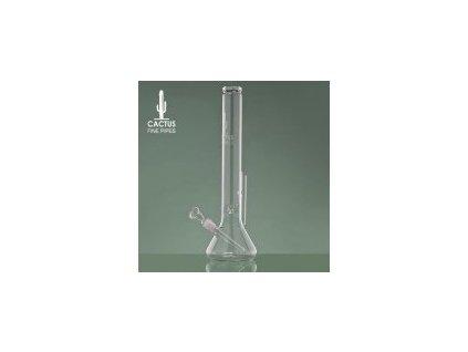 Skleněný bong Beaker Cactus Glass, výška 44 cm, průměr náústku 50 mm, dvojité chlazení