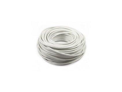 Kabel 3G 2,5mm bílá barva - 1m