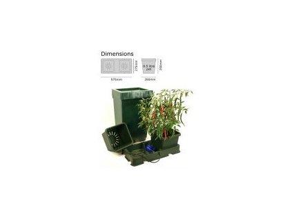 Autopot Easy2grow Kit s 2 květináči, včetně 47L plastové nádrže