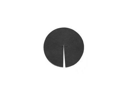 Molitanová krytka pro hydroponické košíky o průměru 80mm