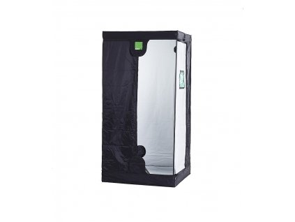BudBox PRO Medium 75x75x200 stříbrný - pěstební stan