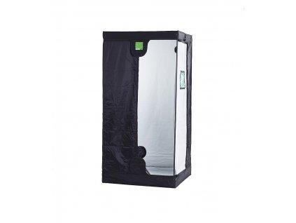 BudBox PRO Small 75x75x100 stříbrný - pěstební stan