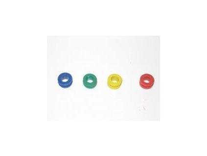 Těsnění k bongům barevná (žlutá, zelená, modrá, červená)