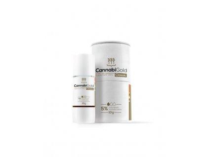 10g CannabiGold CLASSIC zlatý olej 5% CBD, nové balení
