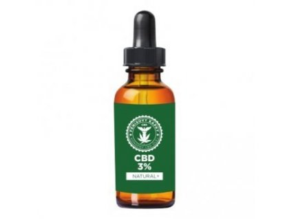 Fénixovy kapky CBD olej 3% bez aroma, 10ml