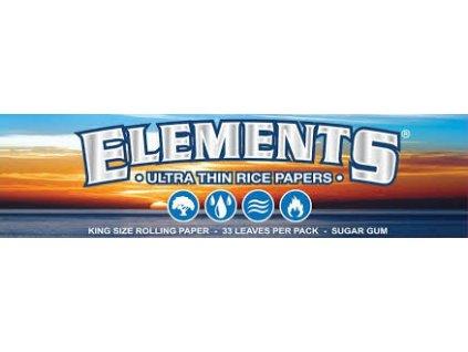 Papírky ELEMENTS KS SLIM