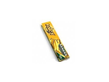 Papírky JUICY JAY´S KS Banán 32ks v balení