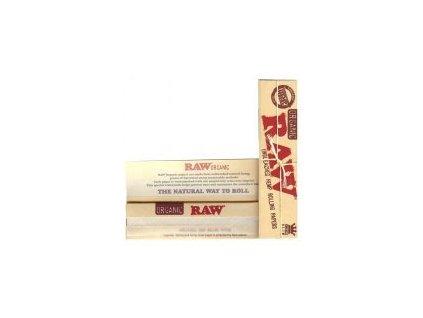 Papírky RAW ORGANIC KS SLIM 32ks v balení