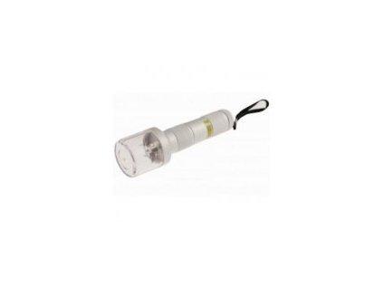 Elektrická drtička BUDDY METAL FLASHLIGHT, stříbrná