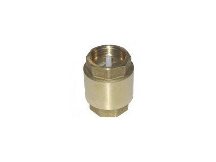 Zpětný ventil mosazný k A -POMP, průměr 20mm, 16atm.