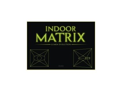 Stínidlo s odtahem INDOOR MATRIX, 125mm