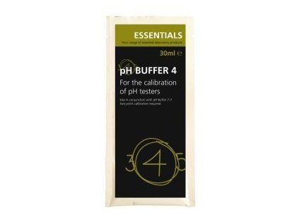 Essentials pH Buffer 4 Sachet 30ml