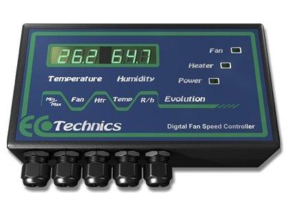 Ecotechnics Evolution Digitální regulátor otáček (max zátěž 2×6 A)