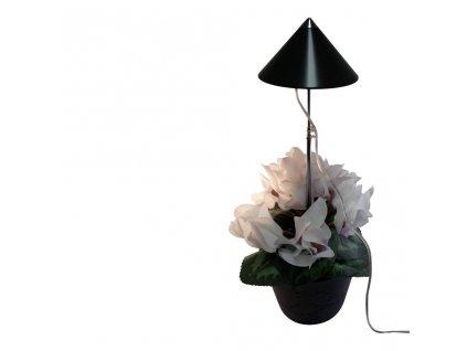 Parus iSun 7 Watt šedý, LED přisvícení pokojových rostlin