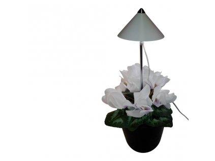 Parus iSun 7 Watt bílý, LED přisvícení pokojových rostlin