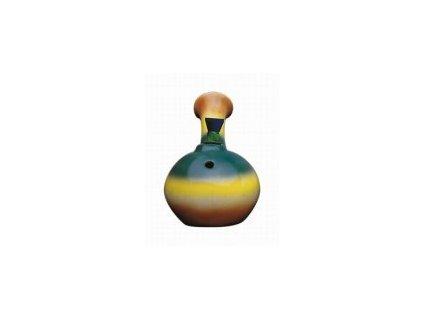 Keramický bong baňka duhová 12cm