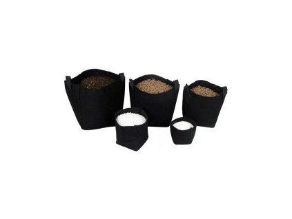 Tex Pot textilní květináč černý, 3L