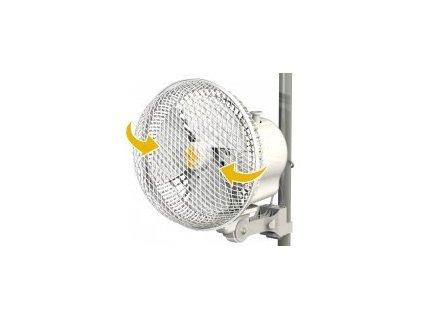 Ventilátor s klipsnou Monkey Fan 20W Oscilační, průměr 21cm - DOČASNĚ VYPRODÁNO!