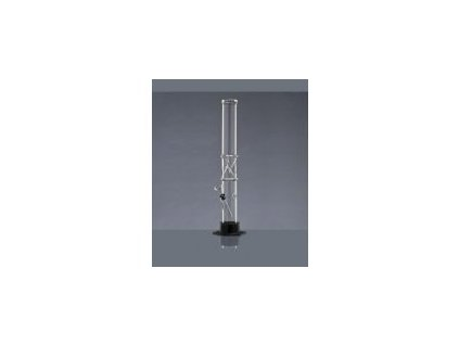 Bong sklo rovný Wujo Ice 40cm x 4,5cm s gumovým těsněním