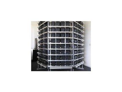 Pi-Rack - vertikální grow systém pro 350 rostlin
