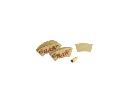 Kónické filtry RAW, 32ks v balení