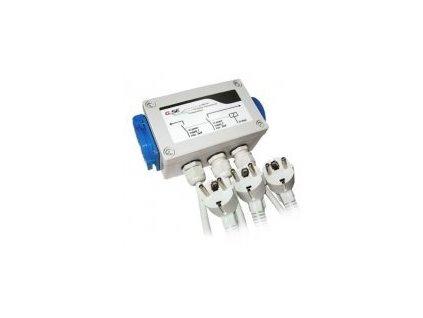 GSE Relay box 8x600W pro dva napěťové okruhy