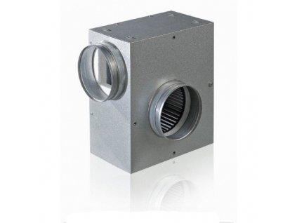 KSA 125mm/530m3 ventilátor do potrubí