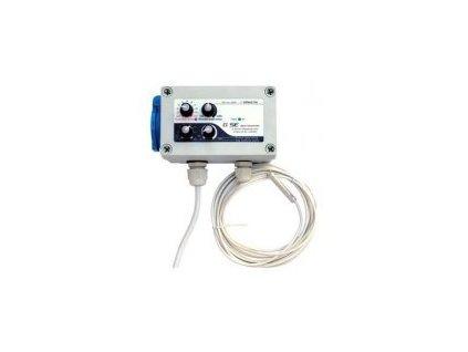 GSE Digitalní regulátor teploty,min&max rychlosti ventilatoru a hystereze