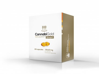 CannabiGold Smart kapsle 30 x 10mg