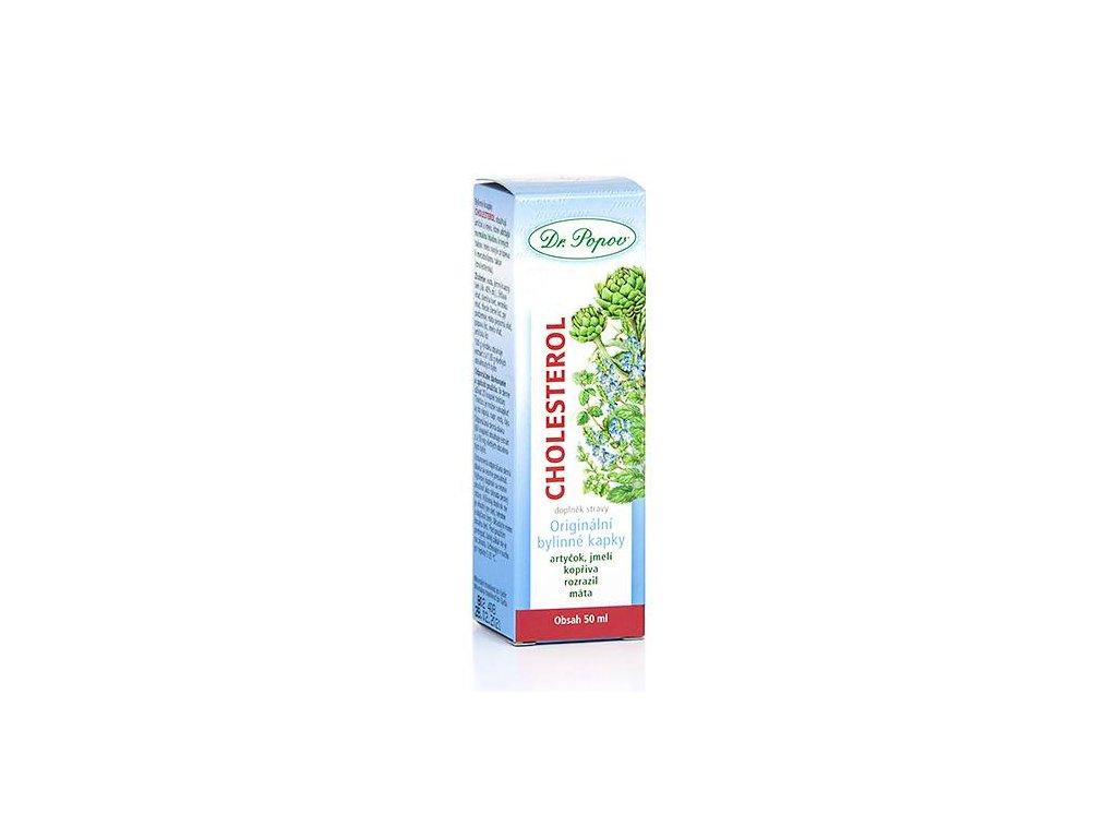Cholesterol, originální bylinné kapky, 50 ml