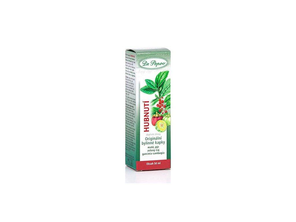 Hubnutí, originální bylinné kapky, 50 ml