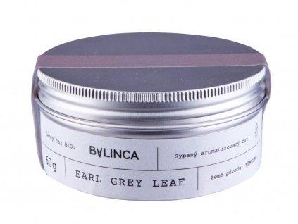 429 cerny caj earl grey leaf bio 60g aromatizovany