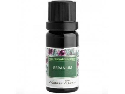etericky olej geranium nobilis tilia l
