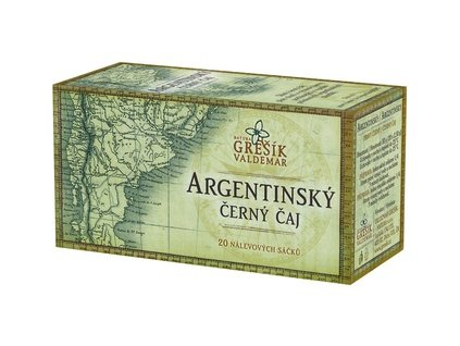 Argentinský černý čaj 20 x 2,5 g