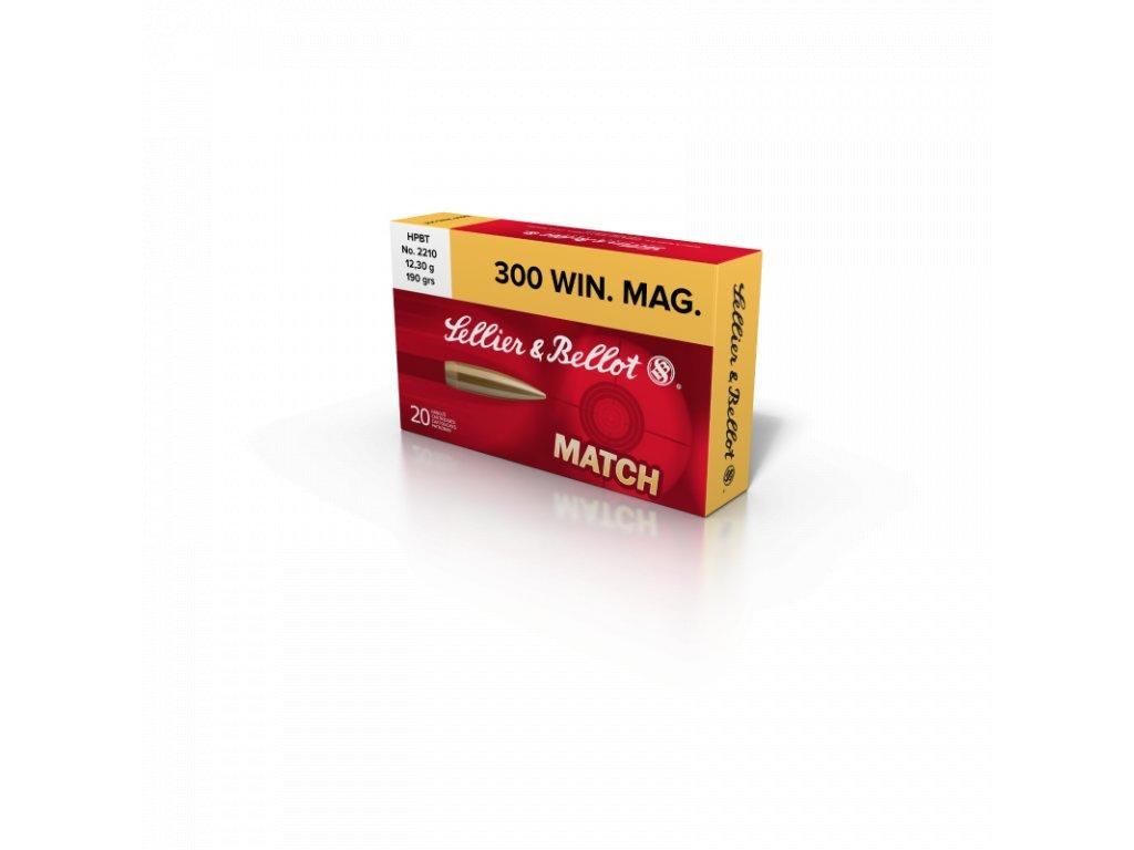 sb 300 win mag 190 grs 123 gramm hpbt match 20 stk