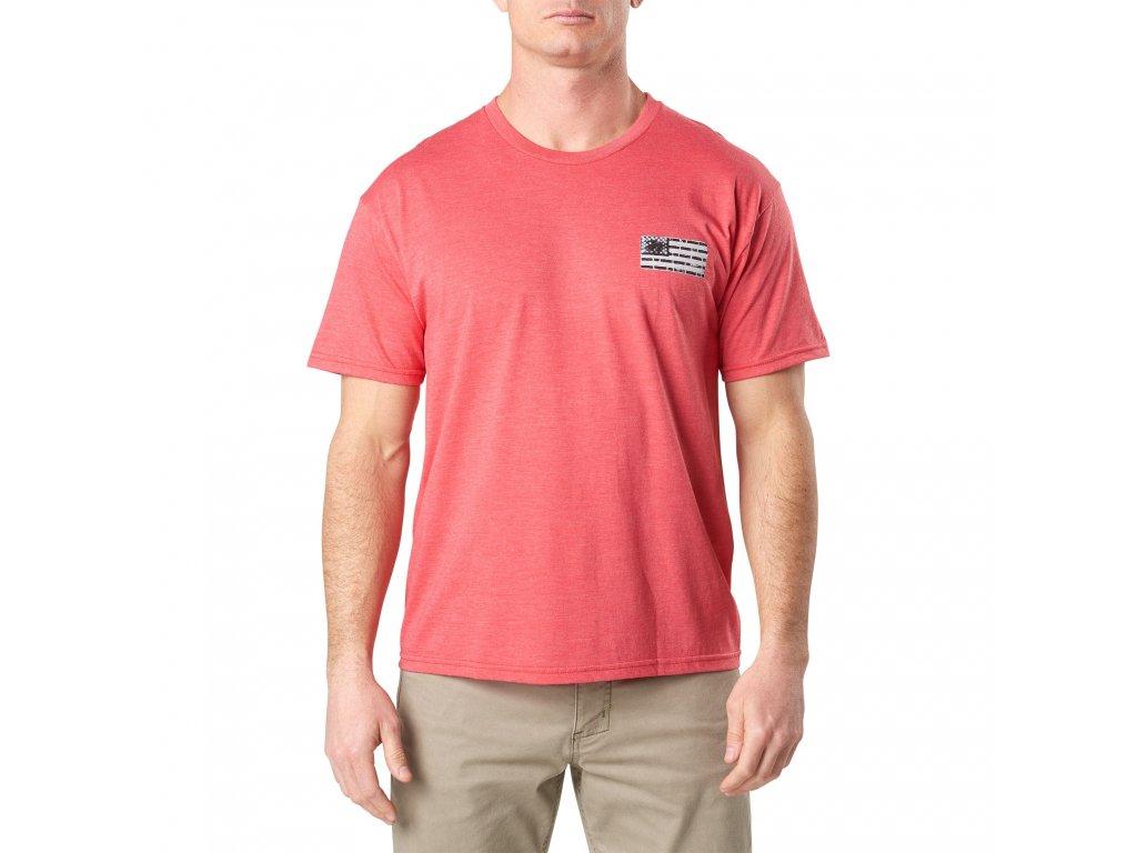tričko s potiskem 5.11 BRICK AND MORTAR TEE