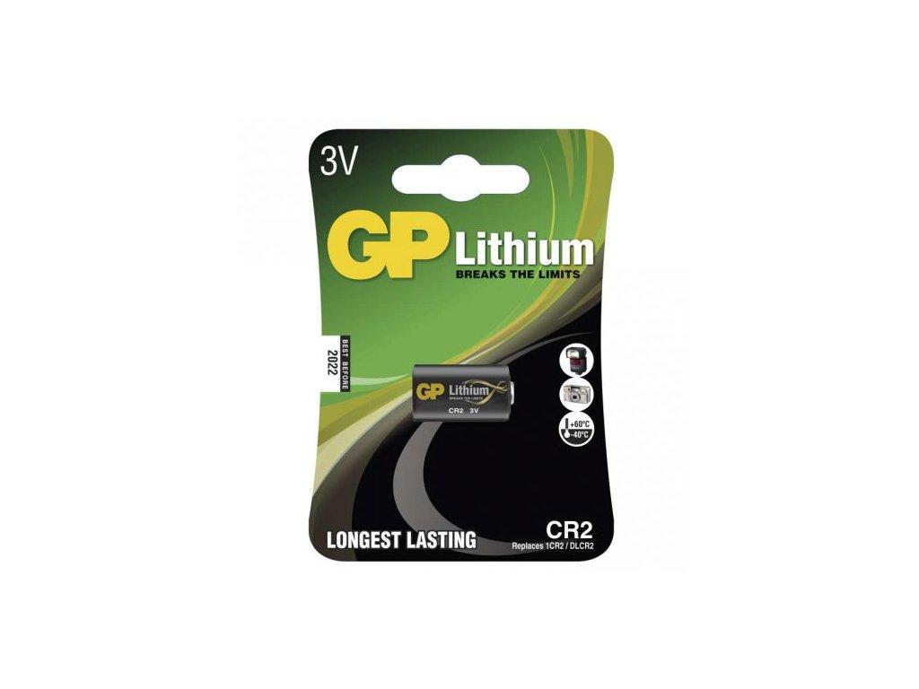baterie lithiová GP CR2