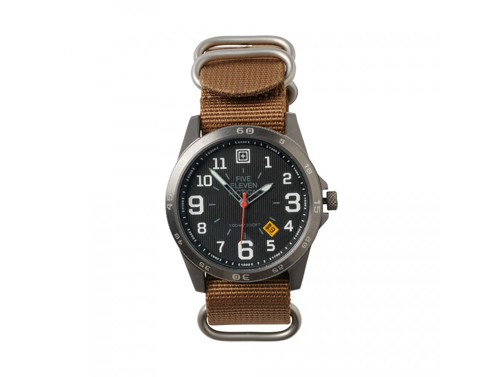 hodinky 5.11 FIELD  WATCH, Black, černé