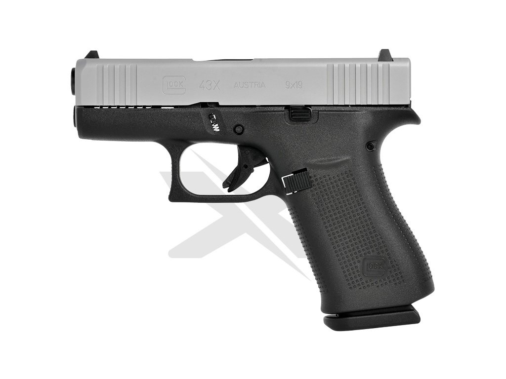 GLOCK G43X Silver Slide Features kopie