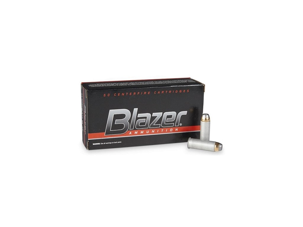 náboj revolverový CCI Blazer Aluminium, .44Rem Magnum, 240gr, JHP