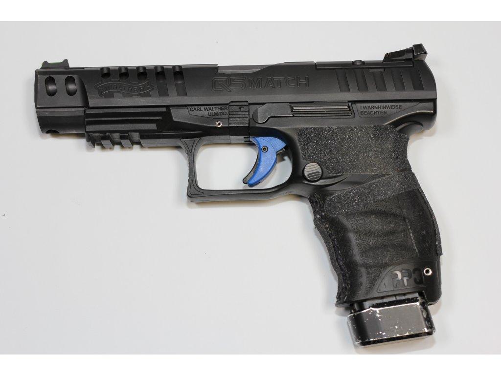 KOMISE pistole samonabíjecí  Walther Q5 MATCH CHAMPION, 9Luger