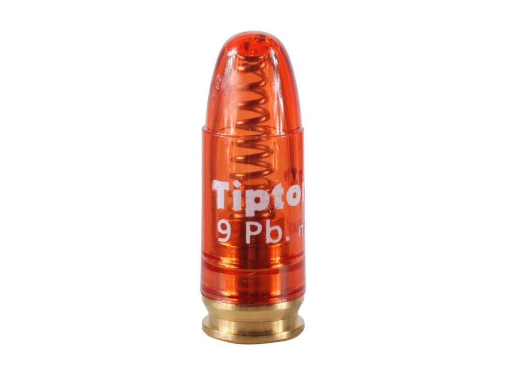 cvičný náboj Tipton 9mmL SNAP CAP, plast